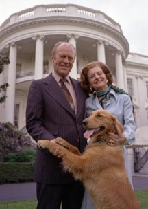 Betty und Gerald Ford