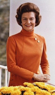 Betty Ford im Oktober 1974